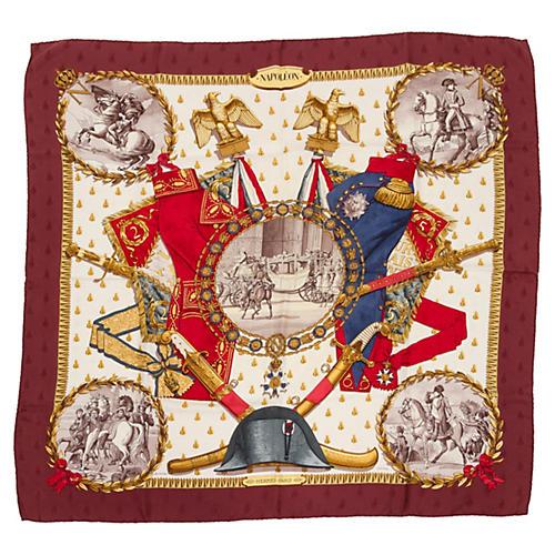 Hermès Napoleon by Ledoux Silk Scarf