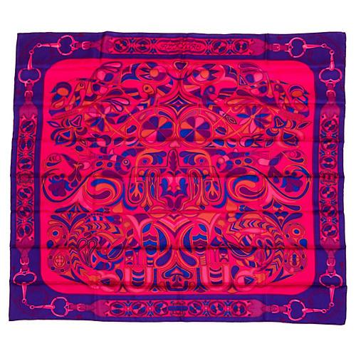 Hermès Folklore Shawl, D'Origny