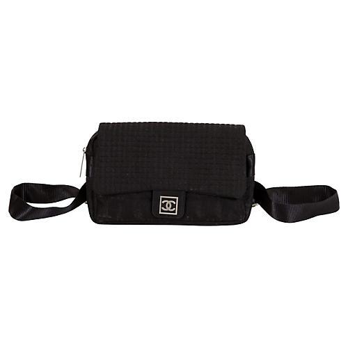 Chanel Black Sports Backpack