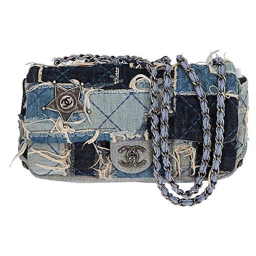 Chanel Denim Dallas Ltd. Ed. Flap