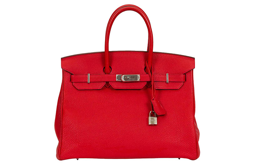 Hermès 35cm Geranium Togo Birkin