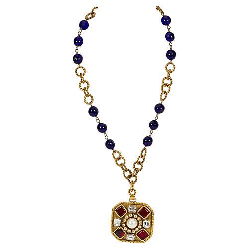 1980s Chanel Gripoix Necklace