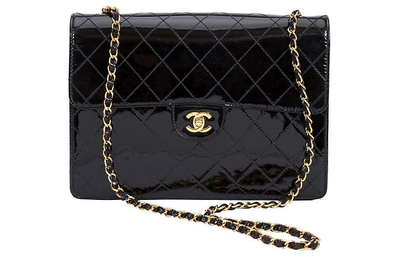 1990s Chanel Jumbo Flap Bag