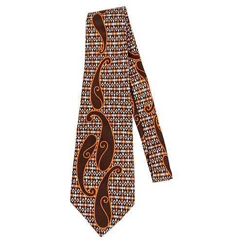 Lanvin 70's Paisley Tie