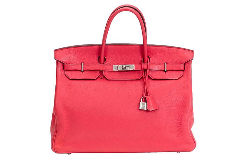 Hermès Rose Jaipur Birkin Bag