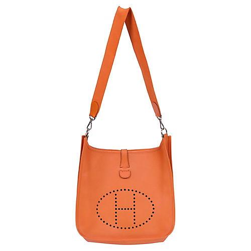 Hermès Orange Evelyne Bag