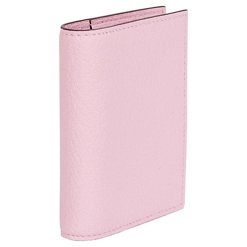 1780e5459a20 Hermès Small Pink Chevre Phone Book