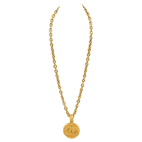 Chanel Oversize Florentine Necklace