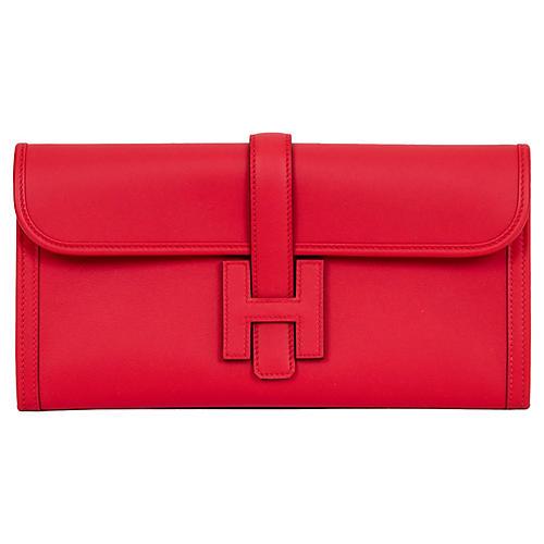 Hermès 29cm Capucine Swift Jige Elan