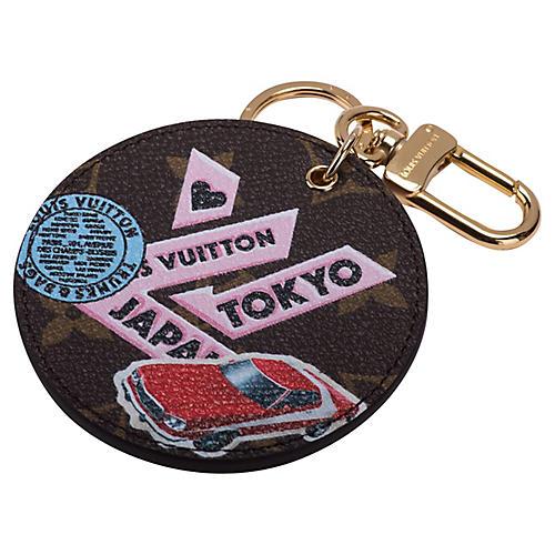 Louis Vuitton Tokyo Monogram Bag Charm