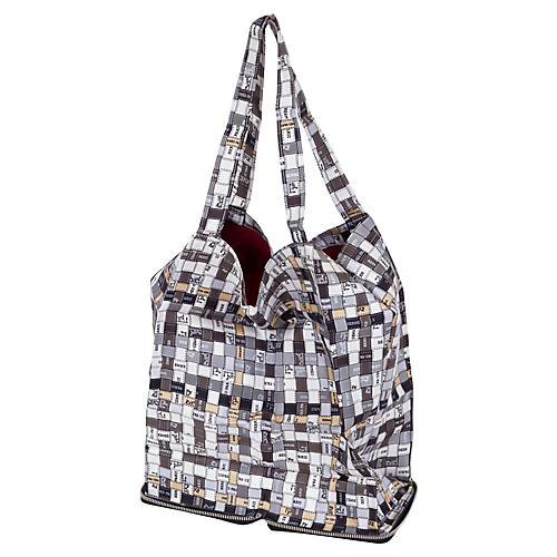 Hermès Black & Gray Silky Pop Bag