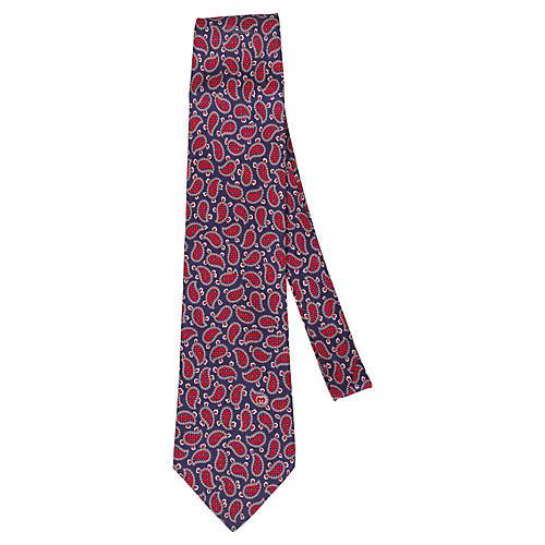 Gucci Paisley Print Tie
