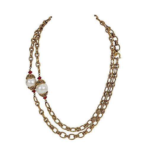 Chanel Sautoir Necklace, 1983