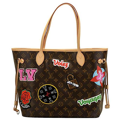 Louis Vuitton Stickers Neverfull Bag