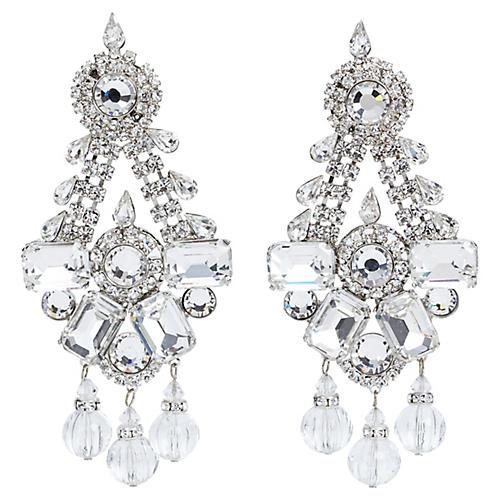 Vrba Rhinestone Earrings
