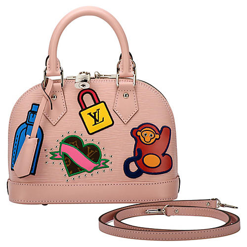 Louis Vuitton Alma Stickers Bag