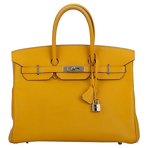 Hermès Jaune d'Or 35cm Birkin