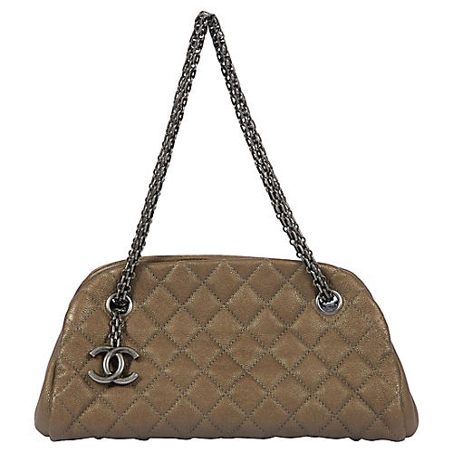 Chanel Etoupe Caviar Mademoiselle Bag