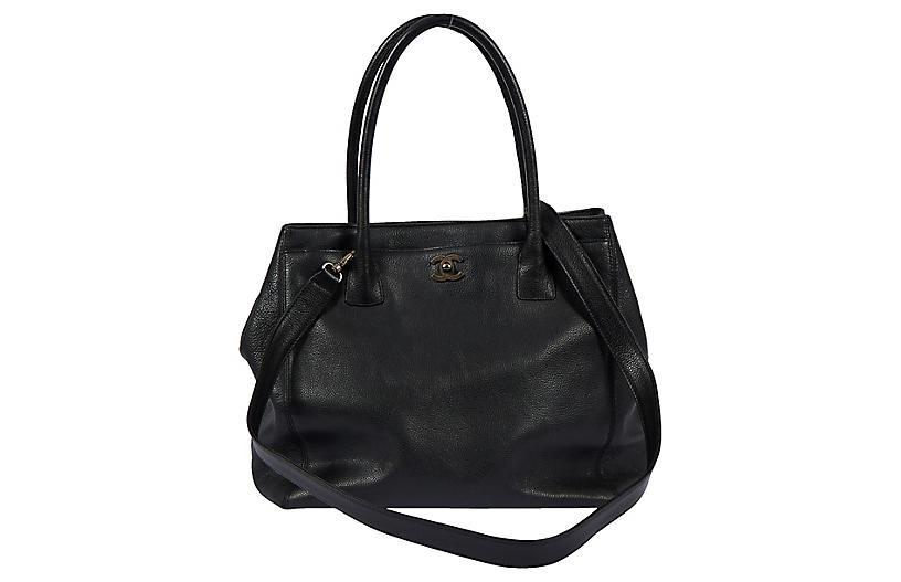Chanel Black Caviar 2-Way Tote Bag