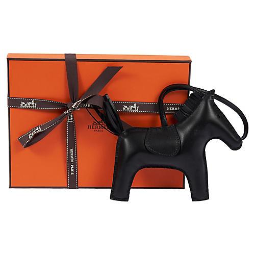 Hermès Black Rodeo GM Charm