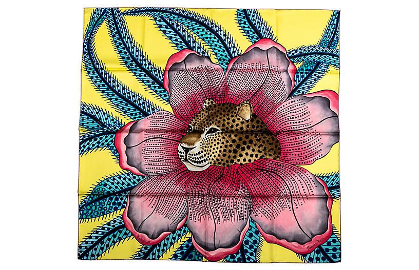 Hermès Jaguar Scarf