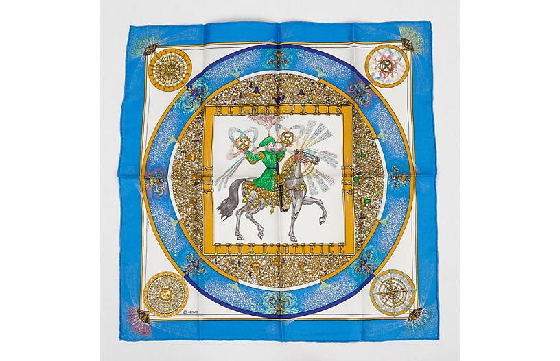 Hermès Feux D'artifice Gavroche, Blue