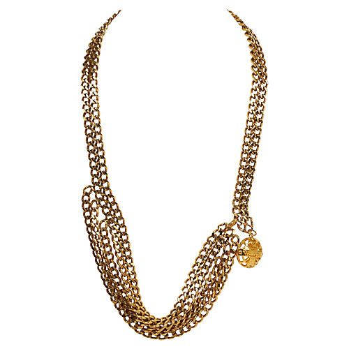 Chanel 70s Multistrand Chain/Necklace