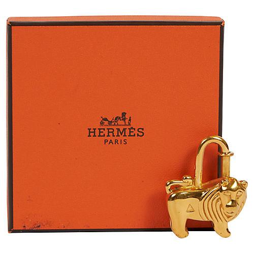 Hermes Cadena Collectible Lion Charm
