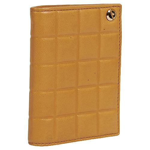 Chanel Caramel Chocolate Bar Card Wallet