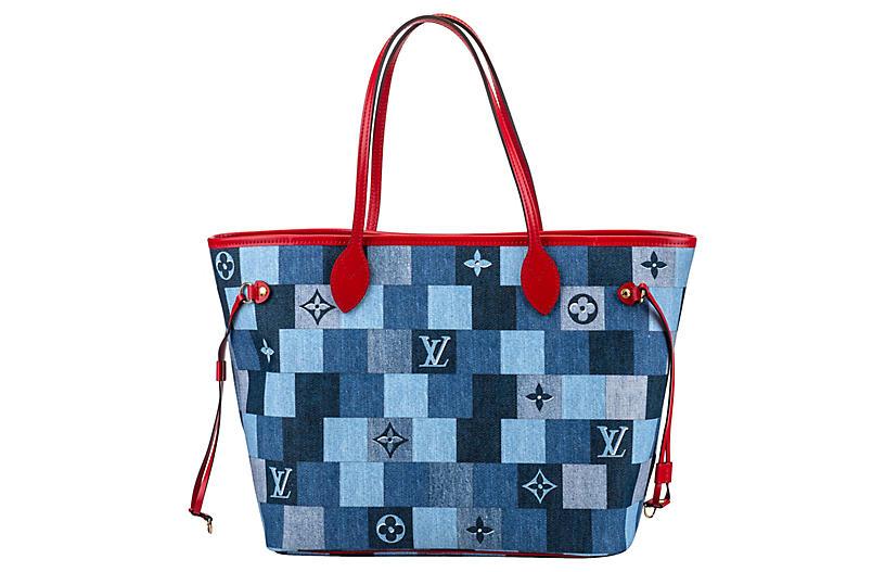 Vuitton Collectible Denim Neverfull