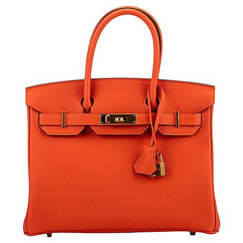 Hermès Feu Togo Gold Birkin