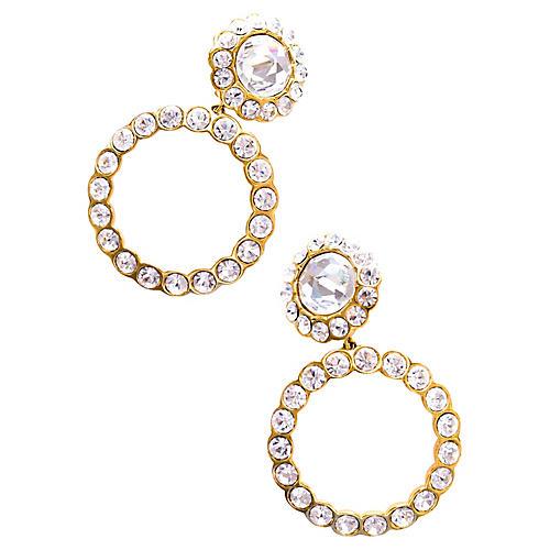 Christian Dior Hoop Earrings