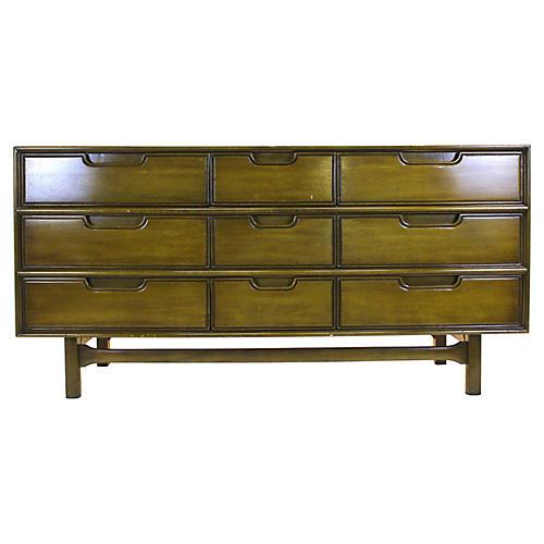 Mid-Century Modern 7-Drawer Dresser