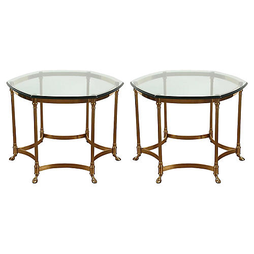 Maison Jansen-Style Side Tables, Pair