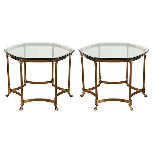 Maison Jansen-Style Side Tables, Pair