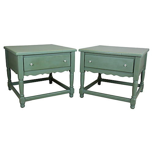 Midcentury Nightstands, S/2