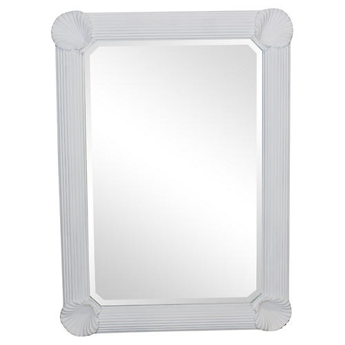 Midcentury Shell Mirror