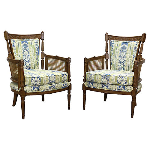 Pair of Neoclassical Style Side Chairs