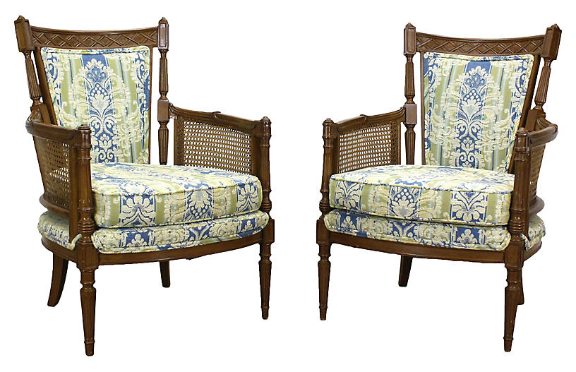 Pair Of Neoclical Style Side Chairs