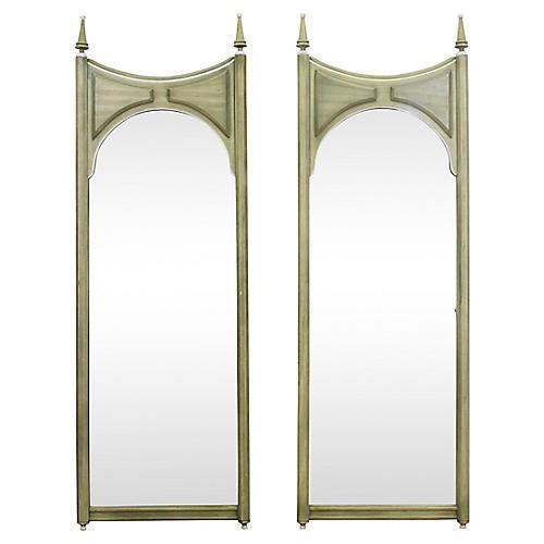 Mid-Century Modern Mirrors, Pair