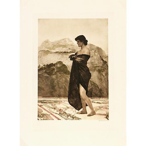 Max Klinger Photogravure, C. 1890