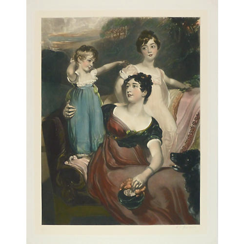 Portrait of a Lady w/ Daughters, 1904