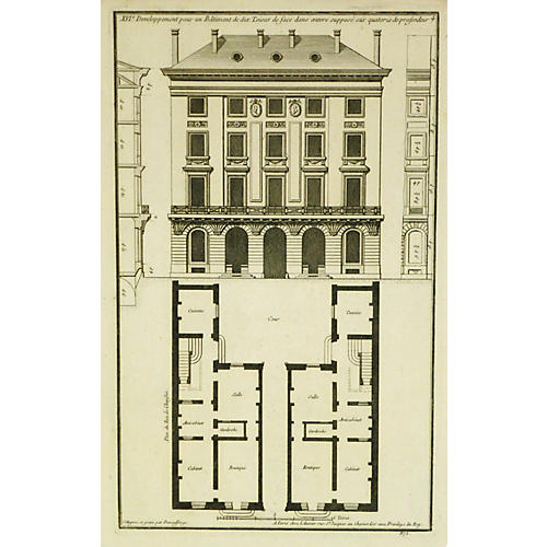 French Architecture, 1780