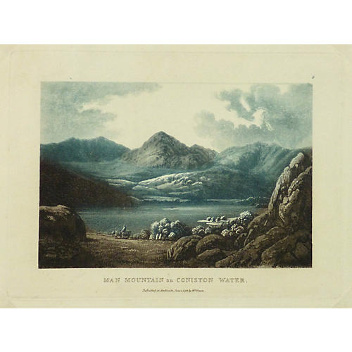 English Lake District, 1815
