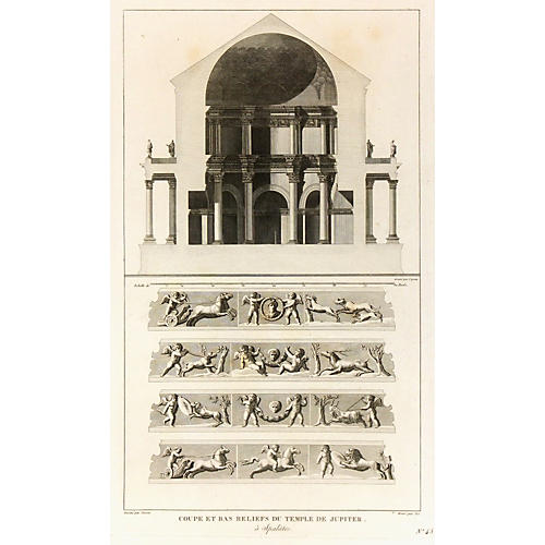 Jupiter's Temple, C. 1790
