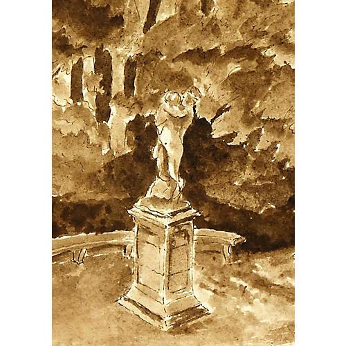 Park Statue, C. 1920