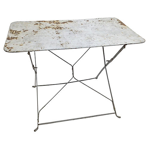 French Bistro Folding Table