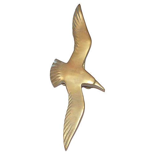 Seabird in Flight Door Knocker