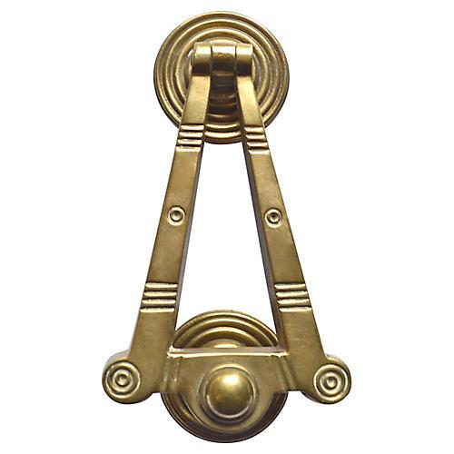 Classic Brass Door Knocker