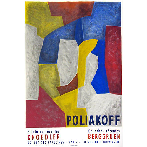 Poliakoff Exhibition Poster
